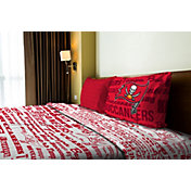 Northwest Tampa Bay Buccaneers Anthem Twin Sheet Set