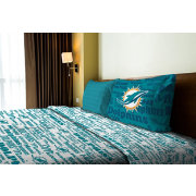 Northwest Miami Dolphins Anthem Twin Sheet Set