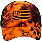 Kryptek Youth Inferno Flag Trucker Hat