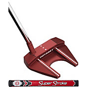 Odyssey O-Works Red #7S Putter – Super Stroke Slim 2.0 Counter Core Grip
