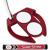 Odyssey O-Works Red 2-Ball Fang Putter – SuperStroke Mid Slim 2.0 Grip