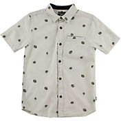 O'Neill Boys' Brees Woven Short Sleeve Shirt