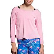 Onzie Girls' Scoop Back Long Sleeve Shirt