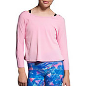 Onzie Girls' Scoop Back Long Sleeve Shirt