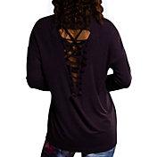 Onzie Women's Dhalia Braid Back Long Sleeve Shirt