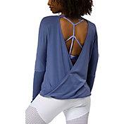 Onzie Women's Drapey V-Back Long Sleeve Shirt