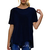 Onzie Women's Navy Boxy T-Shirt