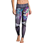 Onzie Women's Tiger Lily Print Graphic Leggings