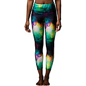 Onzie Women's Smoke and Mirrors High Rise Basic Midi Leggings