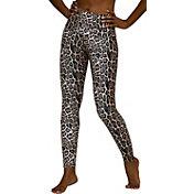 Onzie Women's Leopard High Rise Leggings