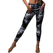 Onzie Women's Fields Print Sporty Leggings
