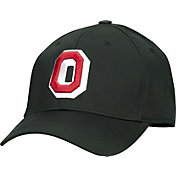 OSU Men's Ohio State Buckeyes The Coach Black Structured Flexfit Hat
