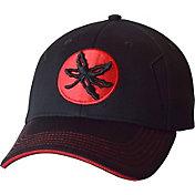 OSU Men's Ohio State Buckeyes Success Black Structured Flexfit Hat