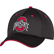 OSU Men's Ohio State Buckeyes Black Revved Up Structured Flexfit Hat