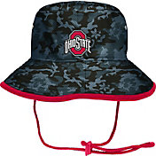 OSU Men's Ohio State Buckeyes Gray Camo Bucket Hat