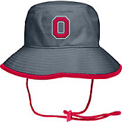 OSU Men's Ohio State Buckeyes Gray Drawstring Bucket Hat