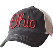 OSU Men's Ohio State Buckeyes Gray/White Fired Up Slouch Adjustable Hat