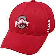 OSU Men's Ohio State Buckeyes Scarlet Booster Plus 1Fit Flex Hat