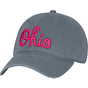 OSU Women's Ohio State Buckeyes Gray Slouch Adjustable Hat