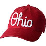 OSU Women's Ohio State Buckeyes Scarlet Advancement Slouch Adjustable Hat