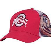 OSU Youth Ohio State Buckeyes Scarlet Junior Mascot Snapback Hat