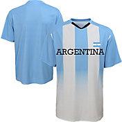 Outerstuff Men's Argentina Replica Jersey Blue T-Shirt