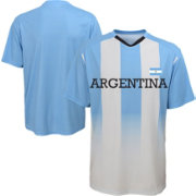 Outerstuff Men's Argentina Replica Jersey Blue T-Shirt