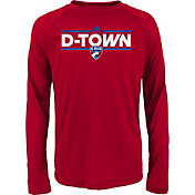 adidas Youth FC Dallas Dassler City Long Sleeve Red Long Sleeve Shirt