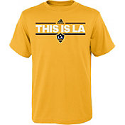 adidas Youth Los Angeles Galaxy Local Dassler Gold T-Shirt