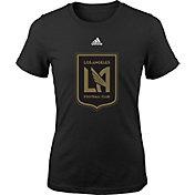 adidas Youth Los Angeles FC Primary Logo Black T-Shirt