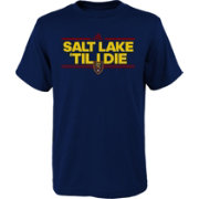 adidas Youth Real Salt Lake Local Dassler Navy T-Shirt