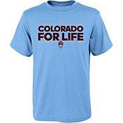 adidas Youth Colorado Rapids Local Dassler Light Blue T-Shirt
