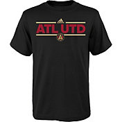 adidas Youth Atlanta United Local Dassler Black T-Shirt