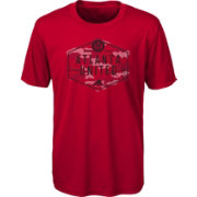 adidas Youth Atlanta United Hex Camo Red T-Shirt