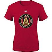 adidas Youth Atlanta United Primary Logo Red T-Shirt