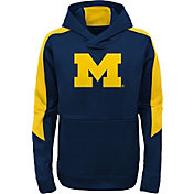 Gen2 Youth Michigan Wolverines Blue Hyperlink Hoodie