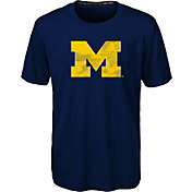 Gen2 Youth Michigan Wolverines Blue Carbon T-Shirt