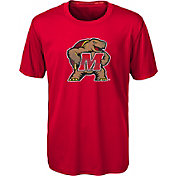 Gen2 Youth Maryland Terrapins Red Carbon T-Shirt