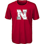 Gen2 Youth Nebraska Cornhuskers Scarlet Carbon T-Shirt