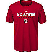 adidas Youth NC State Wolfpack Red Sideline T-Shirt