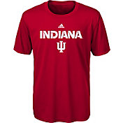 adidas Youth Indiana Hoosiers Crimson Sideline T-Shirt