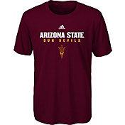 adidas Youth Arizona State Sun Devils Maroon Sideline T-Shirt