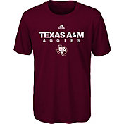 adidas Youth Texas A&M Aggies Maroon Sideline T-Shirt