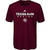 adidas Youth Texas A&M Aggies Maroon Sideline T-Shirt