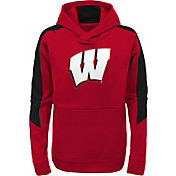 Gen2 Youth Wisconsin Badgers Red Hyperlink Hoodie