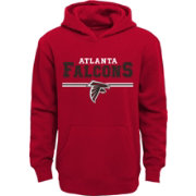 NFL Team Apparel Youth Atlanta Falcons MVP Red Pullover Hoodie