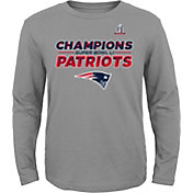 Nike Youth Super Bowl LI Champions New England Patriots Grey T-Shirt