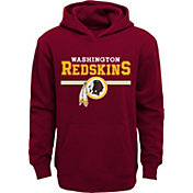 NFL Team Apparel Youth Washington Redskins MVP Red Pullover Hoodie