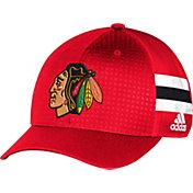 adidas Youth Chicago Blackhawks 2017 NHL Draft Structured Flex Hat