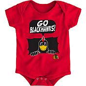 NHL Infant Chicago Blackhawks Mascot Red Onesie